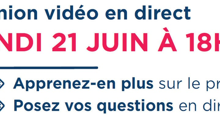 Les Aubiers – Réunion vidéo en direct Lundi 21 juin à 18h